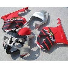 Red Hand Made Fairing Bodywork Kit For Honda VTR1000R RC51 SP1 SP2 2000-2006 3B