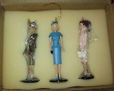 Classic Barbie Ornaments Ashton Drake Heirloom Ornaments Club #93622 Set Of 3