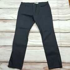 Mens Next Slim Coated Jeans Stretch Trousers Size 38 L
