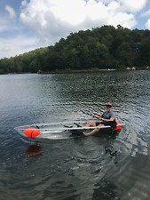 New Clear Canoe - Free seats and paddles x 2