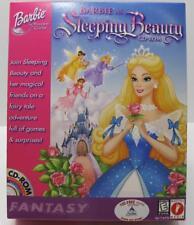 Barbie as Sleeping Beauty Fantasy NEW CD-ROM PC/Mac Windows 95/98 (22C)