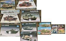 1/72 Modern Tank Model Tank Lot M-1 Abrams T-80 Type 90 Combat Figures Wargaming