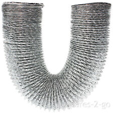 """3m Aluminium Extra Long Vent Hose Pipe for CANDY Tumble Dryer 4"""" / 100mm"""
