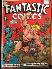 FANTASTIC COMICS # 24 (VF)•SiGnEd by ERIK LARSEN•2008 Image Next Issue Project•