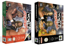 - WCW vs NWO Revenge N64 Replacement Game Case Box + Cover Art Work Only
