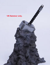 "1/6 Thor Hammer Toy Scene Props Weapon Model Fit 12"" Action Figure"
