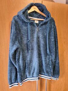 Saltrock Teal Blue Womens Fleece / Hoodie (Size 16)