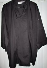 Chef Works Kitchen Coat Black 2Xl Perfect