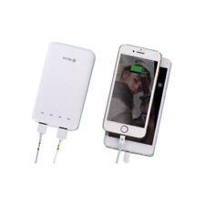 DEVIA Dual Power Bank 6.000 mAh Doppia Uscita 2 Porte USB 2.1A Bianco