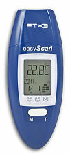 Easyscan FTX3 Ohrthermometer & multifunktionales Fieberthermometer Blau R100#78