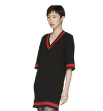 Gucci Viscose With Web Dress- With Tags- RRP$1,650