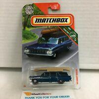 '59 Chevy Wagon * Blue * MXB Matchbox * HE10