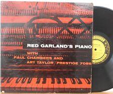 """Red Garland's Piano"" LP ~ Prestige 7086 ~ DG RVG Mono ~ VG Paul Chambers"
