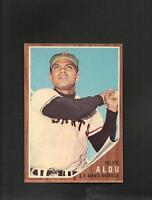 1213* 1962 Topps # 133 Felipe Alou NM-MT