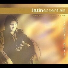 VICENTE SOTO: Latin Essentials Volume 18 CD ( 10 Track Best of, Spanish )