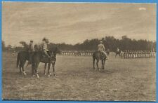 CPA: Champagne, 1915 - Défilé d'un régiment / Tarjeta Postal / Guerre 14-18