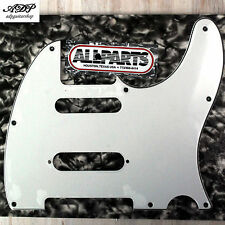 PICKGUARD pour TELECASTER 3 ply STRAT pick MIDDLE WHITE US All Parts PG-9563-035