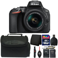 Nikon D5600 DSLR Camera with 18-55mm Lens and Ultimate Accessory Bundle