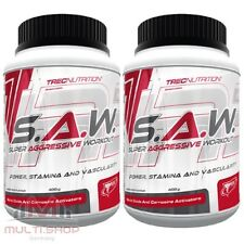 Trec Nutrition S.A.W 800g - Super Anabolic Pre Workout Muskelaufbau Booster SAW