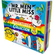 Mr. Men & Little Miss Adventures Collection 12 Books Box Set by Roger Hargreaves