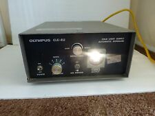 OLYMPUS CLE-4U COLD LIGHT SUPPLY AUTOMATIC EXPOSURE 120v 60Hz  1.7 AMP