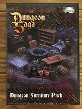 Dungeon Saga: Dungeon Furniture Pack Scenery Miniatures