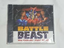 NEW Battle Beast The Ultimate Fight Game PC Computer Game SEALED fighting cd-rom