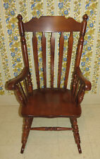 Tell City Rumford Hard Rock Maple High and Easy Senior Rocker Rocking Chair 802