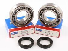 Aprilia RX 125 1999 - 2011 SKF C4 Crank Bearings & Oil Seal Kit - Correct Cleara