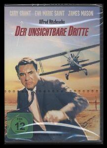 DVD DER UNSICHTBARE DRITTE - ALFRED HITCHCOCK - CARY GRANT + JAMES MASON * NEU *