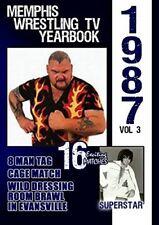 1987 Memphis Wrestling Tv Yearbook 3 [New DVD]