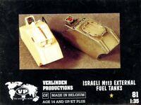 Verlinden 1:35 Israeli M113 External Fuel Tanks Resin Detail Set #81