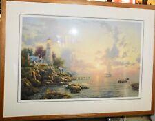 "Thomas Kinkade Sea Of Tranquility 48""x 36"" Limited Artist Proof (104/1170 A/P)"