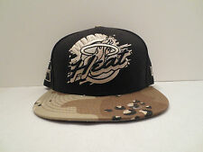 NEW ERA NBA MIAMI HEAT CIRCLE CIRCUIT CAMO FITTED CAP HAT SIZE 7 5/8 NWT