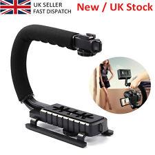 C-Shape Video Handle Stabilizer Grip Bracket Holder For SLR DV Camera UK SELLER
