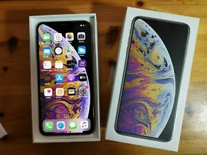 Apple iPhone XS Max - 64GB Silver (Unlocked) A1921 All carriers open Box