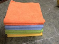 (2) Microfiber Cleaning Towels Cloths Rags Polishing Auto Detail