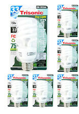 Daylight Bulb Light 33 W Energy 150 Watt Output White Compact Fluorescent