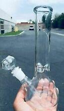 10 inch Smoking Pipe Beaker w/ ICE Catcher Hookah Water Pipe Heavy Glass Bong