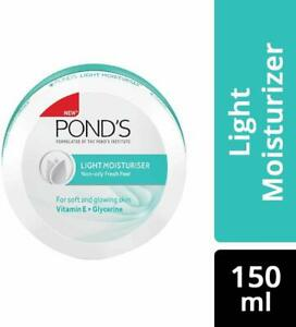 Ponds Light Moisturizer Non Oily Fresh Feel New - 150 ml Vitamin E Soft Skin