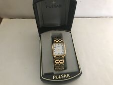 VITAGE PULSAR WATCH W CASE AS IS FOR PARTS
