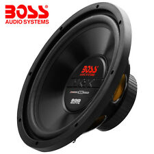 "BOSS Audio 12 ""AUTO Bass Altoparlanti 800w CX12 4-ohm 12"" SUB SUBWOOFER"