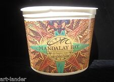 MANDALAY BAY CASINO Compass Rose Plastic Coin Cup Bucket Lucky Slot Las Vegas