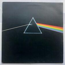 PINK FLOYD Dark Side Of The Moon 1973 UK LP SHVL804 Solid Blue Triangle A2/B2 EX