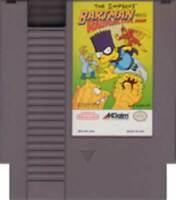 Simpsons Bartman Meets Radioactive Man - NES Nintendo