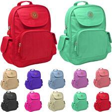 Unisex Mini Fabric Backpack Rucksack Girls School Bag College Shoulder Gym Bag