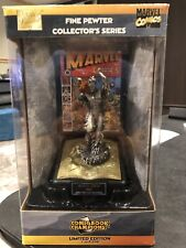 HUMAN TORCH PEWTER STATUE MARVEL COMIC BOOK CHAMPIONs LIMITED EDITION /9998 Rare