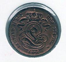 1 cent 1901 frans * 1901 over 1801 * Prachtig / FDC * LEOPOLD I * nr 9896