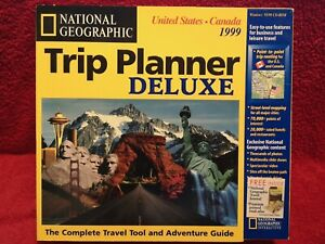 National Geographic Trip Planner Deluxe United States Canada