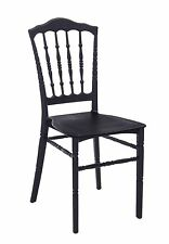 Chair Chiavarina Mini CMS 40, 5x41x89H Packaging 4 Pieces, Black